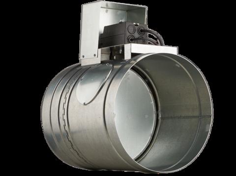 Клапан противопожарный BMFDC(120)-R(230)-ф200 круглое сечение