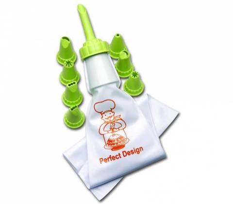 Кондитерский мешок Bager  с 8 насадками