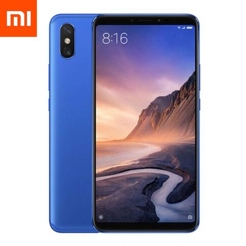 Смартфон Xiaomi Mi Max 3 4 / 64GB (синий)