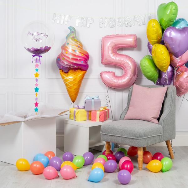 Шары с перьями Сет детский из воздушных шаров Мороженка ice_cream_full.jpg