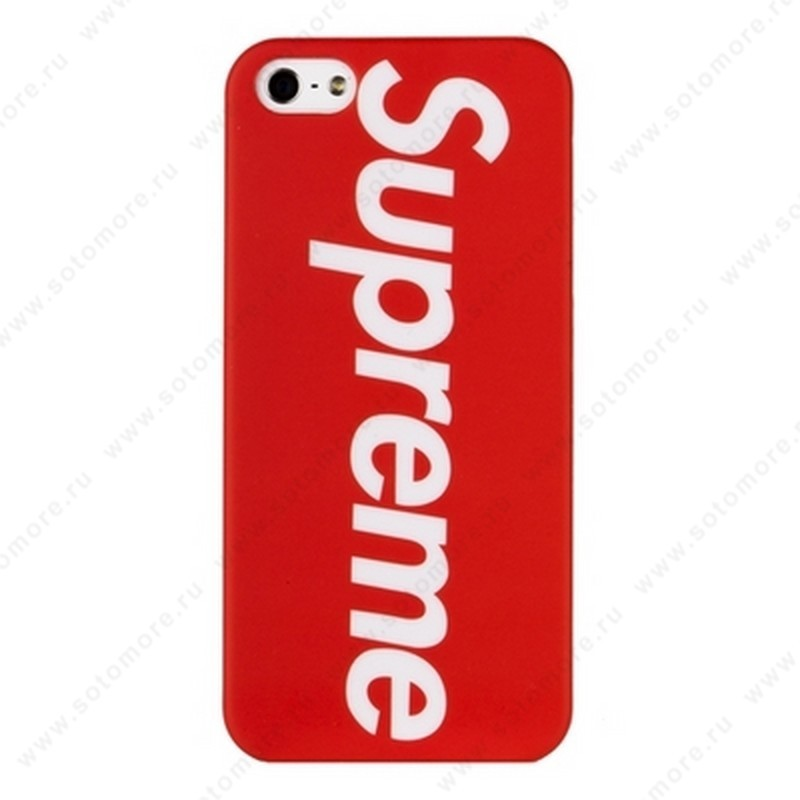 Накладка Supreme для iPhone SE/ 5s/ 5C/ 5 вид 6