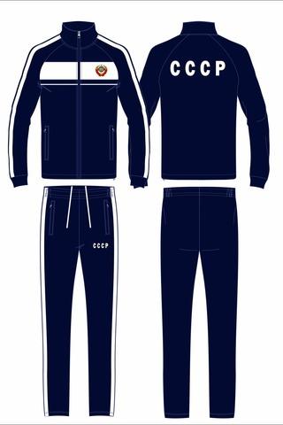 Спортивный костюм СССР 14M-AS-1346 синий