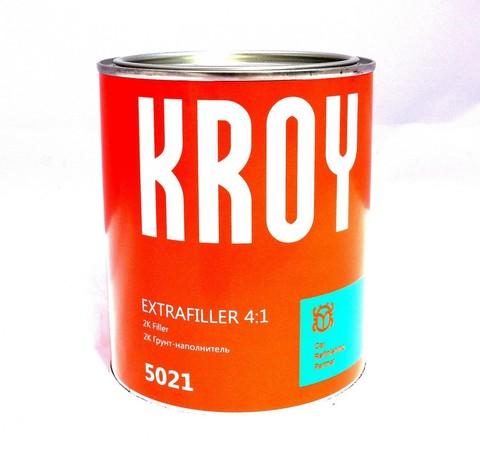 5021  KROY 2K EXTRAFILLER  4:1 Грунт-наполн. серый - 3,5 л.