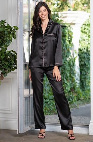 Комплект брючный  Mia-Amore Джулия JULIA 8736 черный