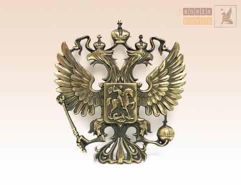 магнит Герб России 6х6 см