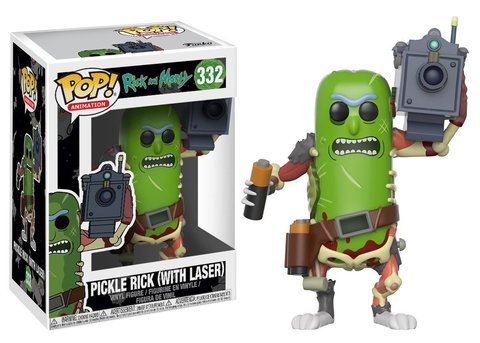 Фигурка Funko POP! Vinyl: Rick & Morty: Pickle Rick w/ Laser 27862