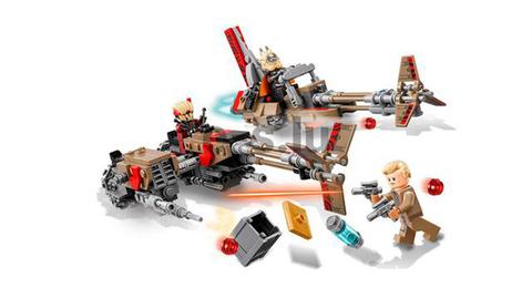 LEGO Star Wars: Свуп-байки 75215 — Cloud-Rider Swoop Bikes — Лего Звездные войны Стар Ворз