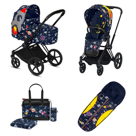 Набор Cybex Priam Lux III FE Space Rocket by Anna K matt black