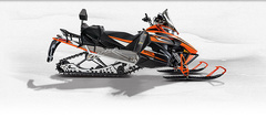 Снегоход Arctic cat XF 8000 CT 141 ES orange фото