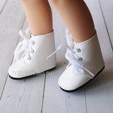 Ботинки для куклы Paola Reina 32 см белые 62324