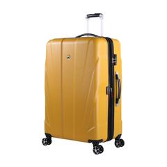 Чемодан Swissgear Adams, желтый, 52x31x78 см, 96 л