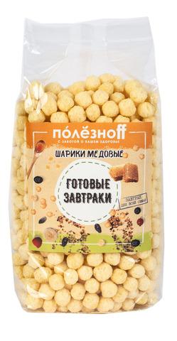 Готовый завтрак ПолезноFF Шарики медовые 150 г