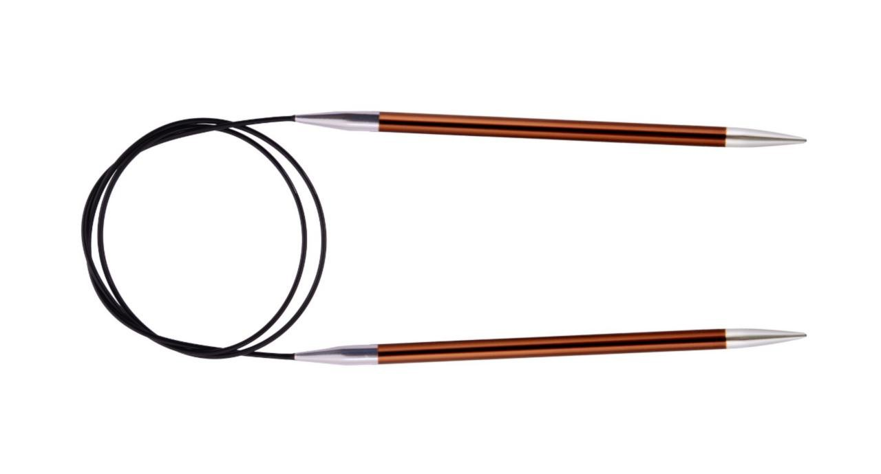 Спицы KnitPro Zing круговые 5.5 мм/80 см 47132