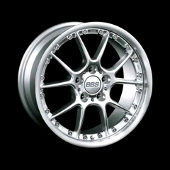 Диск колесный BBS RK II 8x17 5x112 ET35 CB82.0 brilliant silver