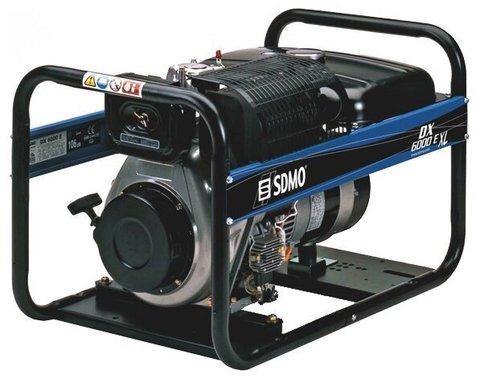 Кожух для дизельного генератора SDMO DX6000E XL C Auto (5200 Вт)