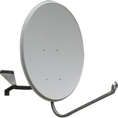 Спутниковая тарелка 80 см для Триколор,НТВ