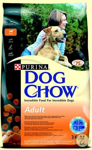 Dog Chow Для взрослых собак с курицей (adult Chicken) 14 кг