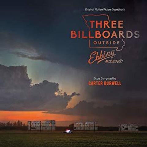 Комплект из 2-х виниловых пластинок. Three Billboards Outside Ebbing Missouri
