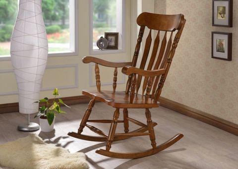 Кресло-качалка AWR-1002-AHN темный дуб