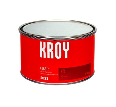 5051 KROY FIBER 2К Шпатлевка полиэфирная 1.8 kg