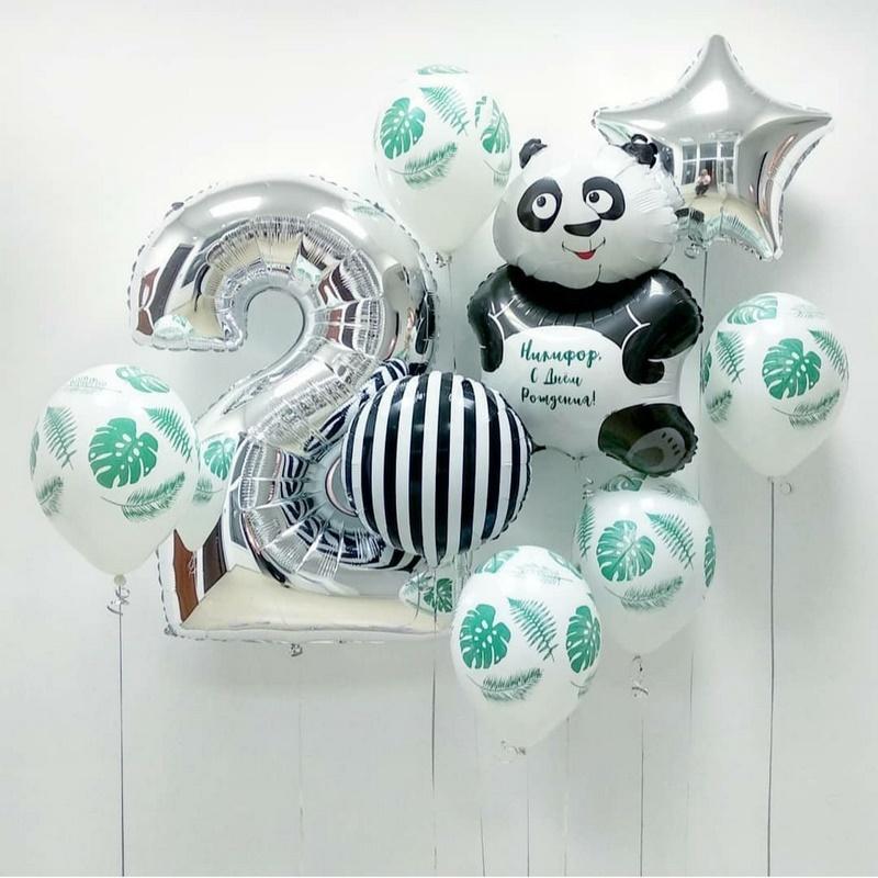 Шары панда Сет из шаров с Пандой и Цифрой b7612e9586965c3da81e66f1d06bfd32.jpg