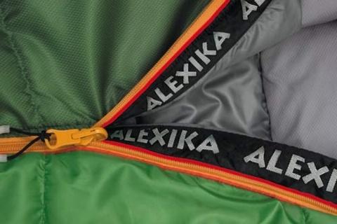 Картинка спальник Alexika MOUNTAIN зеленый