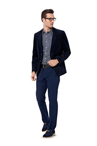 Выкройка Burda (Бурда) 6872 — Мужской пиджак