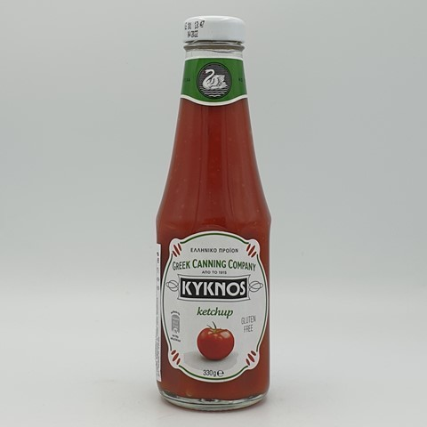 Кетчуп томатный KYKNOS, 330 гр