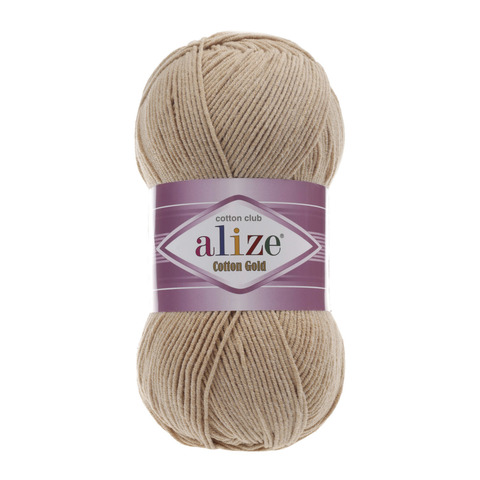 Пряжа Alize Cotton Gold бежевый 262
