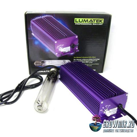 ЭПРА Lumatek Ultimate 600W 240V/400V с регулятором + лампа