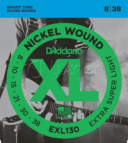 D`Addario EXL130 XL NICKEL WOUND Струны для электрогитары