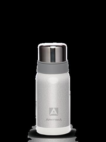 Термос Арктика (0,5 литра) с узким горлом американский дизайн, серебристый
