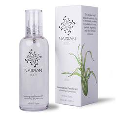Дезодорант с эфирным маслом лемонграсса, Nairian