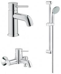 Комплект для ванной Grohe BauClassic 124899 3 в 1