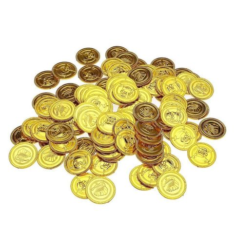 Пиратское золото (100 монет)