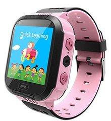 Кнопка Жизни Часы-телефон с GPS (розовые) (J112)
