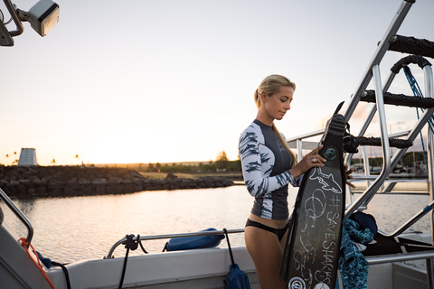 XCEL OCEAN RAMSEY COLLECTION WOMENS UV 6OZ L/S WITH KEY POCKET SPRING 2018
