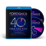 Foreigner / Double Vision - Then And Now (40th Anniversary Edition) (Blu-ray+CD)
