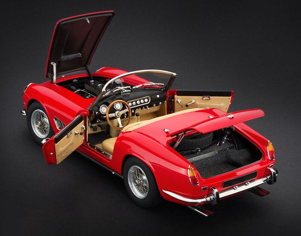 Коллекционная модель Ferrari 250 GT SWB California Spyder 1961 Red
