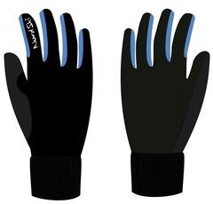Перчатки Nordski Warm Black-Blue WS 18
