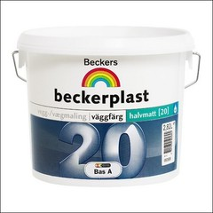 Краска для стен и потолков BECKERS BECKERPLAST 20 База А (Белый)