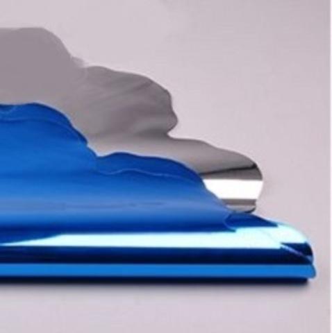 Салфетка металл круглая (d=60 см, упак.=50 шт.) Цвет:синий
