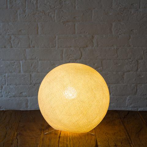Хлопковый светильник кремовый
