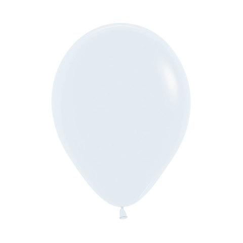 Латексный воздушный шар, цвет белый пастель