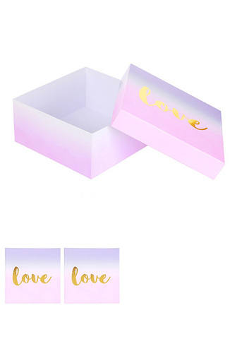 Large Foldable Love Gift Box