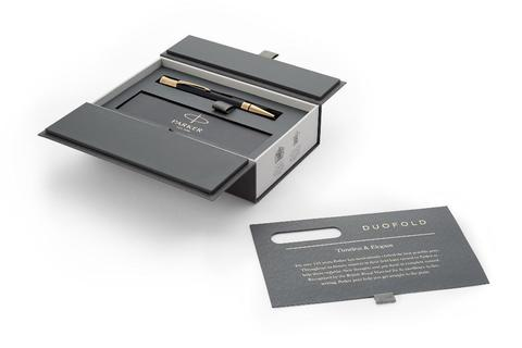 Шариковая ручка Parker Duofold Classic Black GT Fountain Pen123