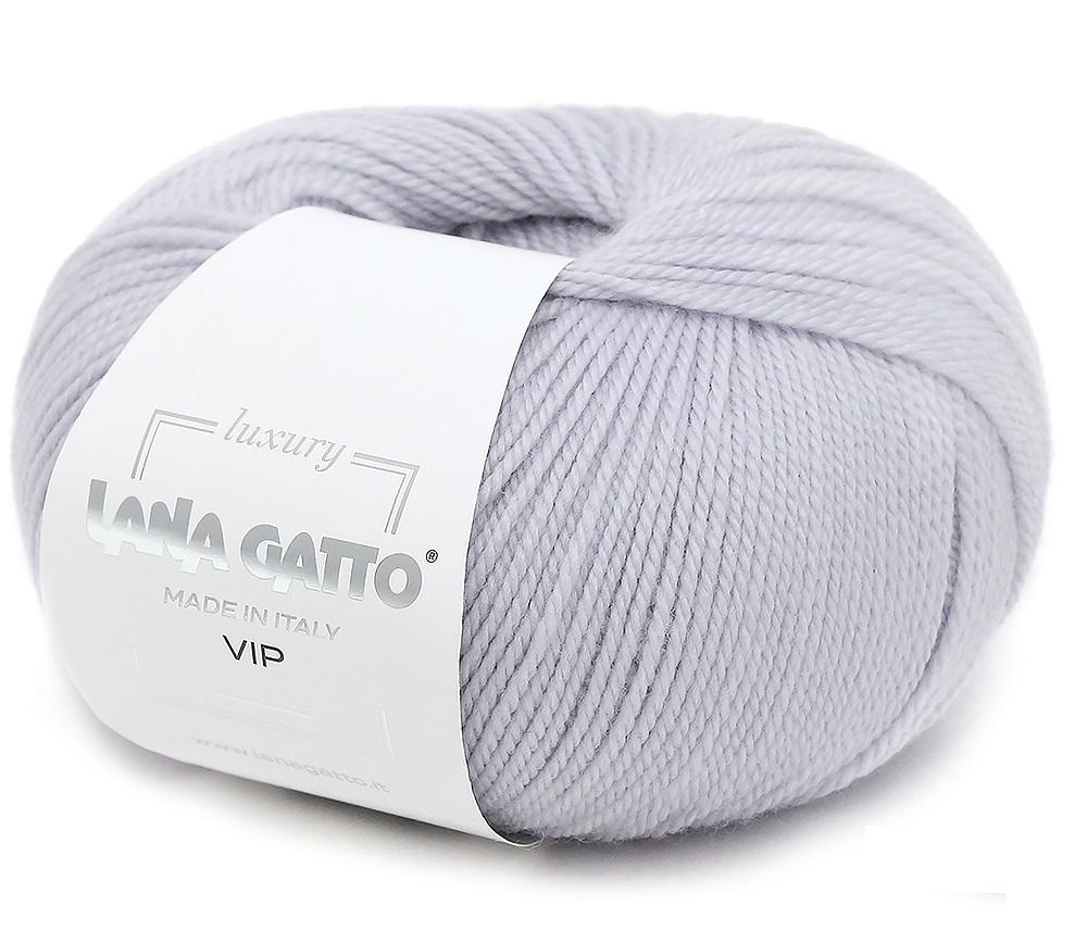 Пряжа Lana Gatto VIP 12504 жемчуг