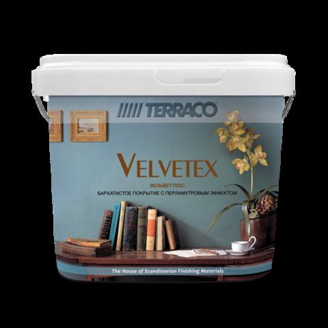 Terraco Velvetex/Террако Вельветекс бархатное декоративное покрытие c перламутровым блеском