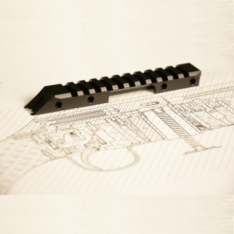 Планка Пикатинни для винтовки МЕ16 (black)