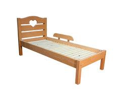 Кровать односпальная из массива